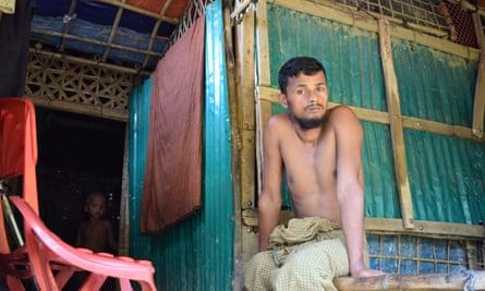 Rohingya farmer Mohammad