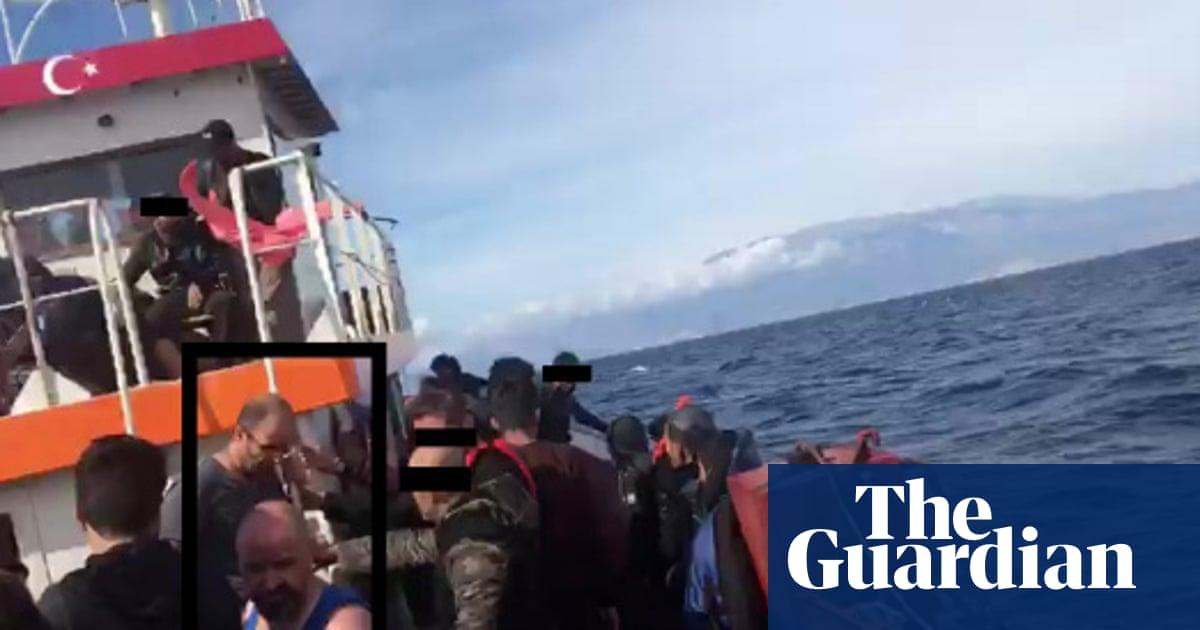 Greece accused of 'shocking' illegal pushback against refugees at sea