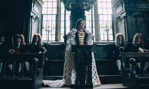 Olivia Colman (Queen Anne) in The Favourite