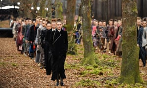 Chanel's autumn/winter show.