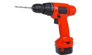 A big red drill