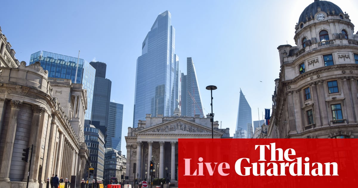 Bank of England expected to predict faster recovery as economy strengthens – business live