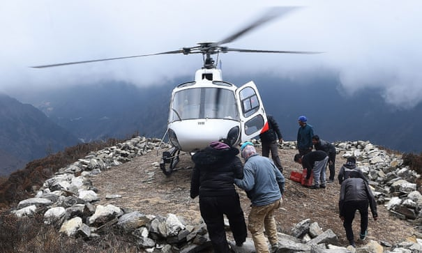 6e49a32c57b Nepal cracks down on lucrative helicopter rescue scams | World news | The  Guardian