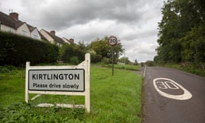 Oxfordshire village of Kirtlington