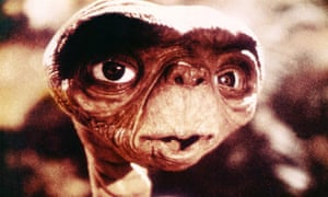 ET - The Extra-Terrestrial from the Spielberg movie.
