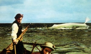 Better on the page? John Huston's film version of Herman Melville's Moby-Dick.