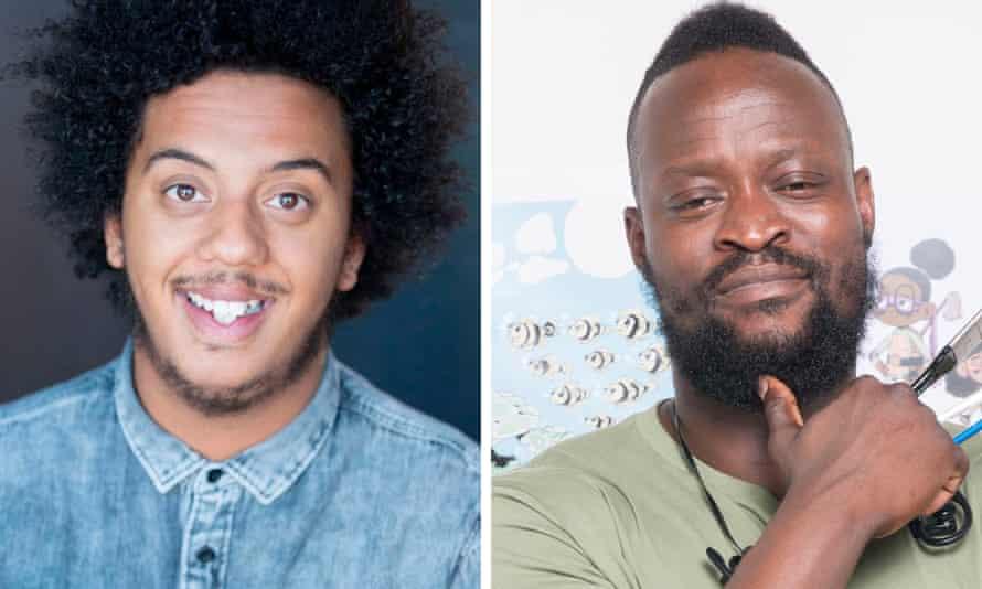 Nathan Bryon and Dapo Adeola