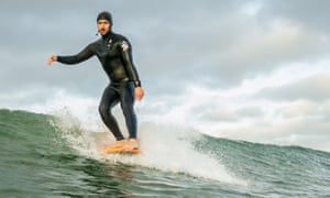 Dan Laverty pursued his childhood passion for the waves and has opened a surf school.