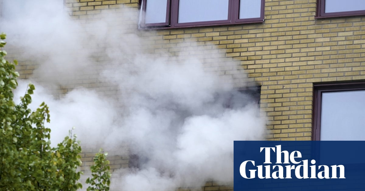 At least 25 injured after explosion at block of flats in Gothenburg