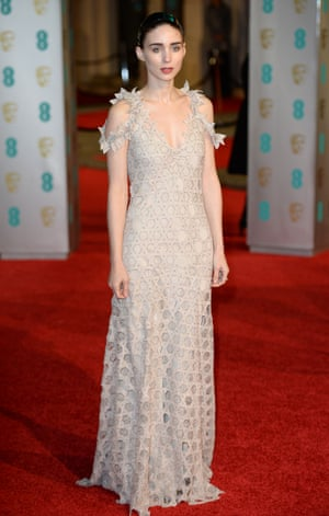Best supporting actress nominee Rooney Mara.