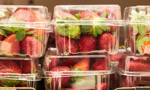 Strawberry punnets
