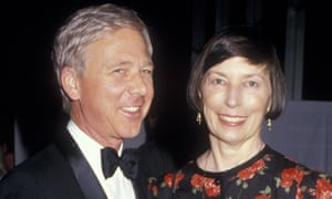 William Christopher and Barbara O'Conner, seen in 1987.