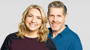 5 Live's Anna Foster and Tony Livesey.