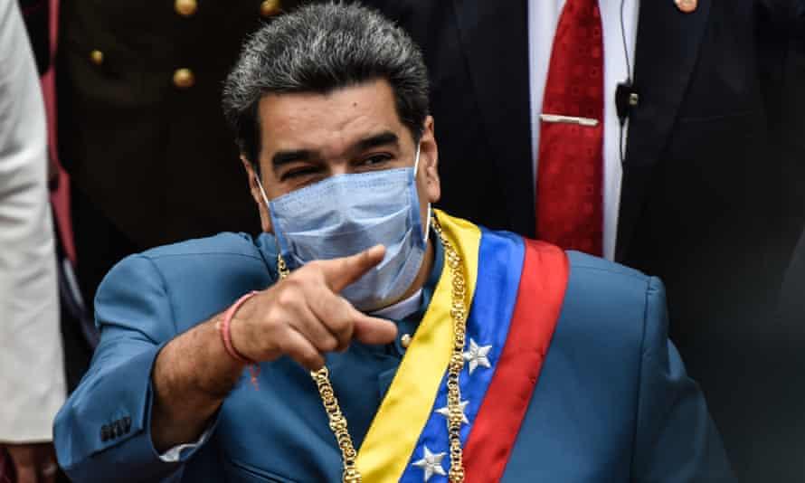 President Nicolás Maduro has clashed repeatedly with Brazil's far-right president, Jair Bolsonaro.