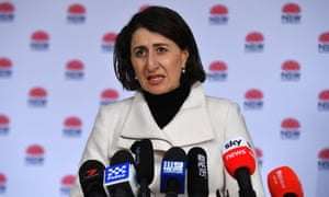 NSW premier Gladys Berejiklian announced 50 new Covid cases on Saturday, 26 of which were infectious in the community.