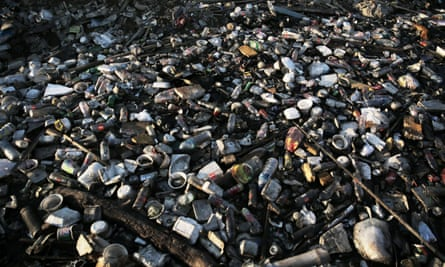 Plastic waste in Jakarta, Indonesia