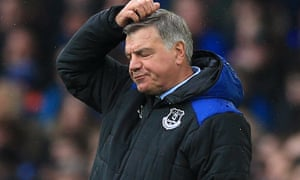 Sam Allardyce has failed to win over the fans at Everton