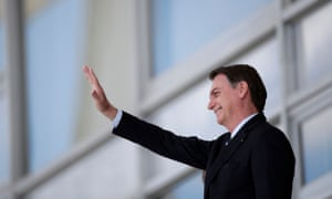 Brazil's president Jair Bolsonaro promised to follow Trump's lead and move Brazil's Israel embassy from Tel Aviv to Jerusalem.