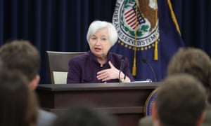 Federal Reserve Chair Janet Yellen Holding her Quarterly Monetary Policy News Conference today.
