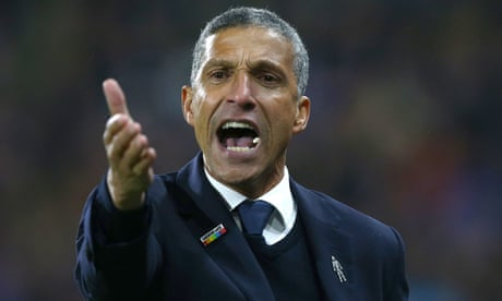West Brom want Chris Hughton talks over manager's job after play-off exit