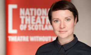 Jackie Wylie, the current artistic director of the National Theatre of Scotland