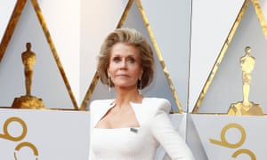 Jane Fonda is a co-founder of Women's Media Center, which has released a report on the lack of female Oscars nominees.
