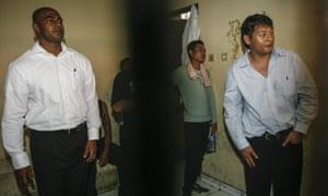 Australians Myuran Sukumaran and Andrew Chan in a Bali court in 2010