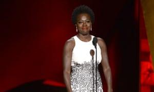 Viola Davis wins