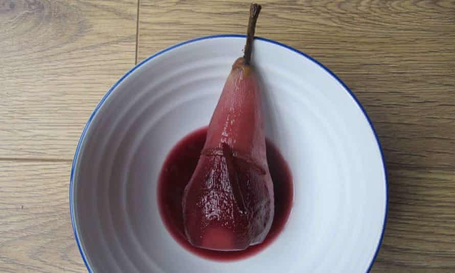 Anne de Ravel's perfect poached pear
