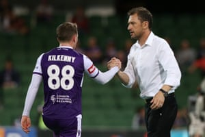Tony Popovic and Neil Kilkenny