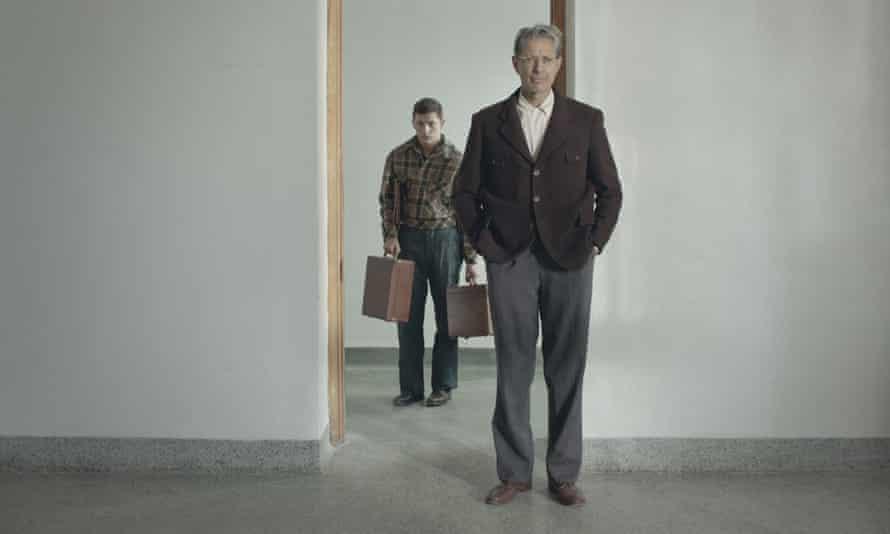 Bleak house … Tye Sheridan and Jeff Goldblum in The Mountain.