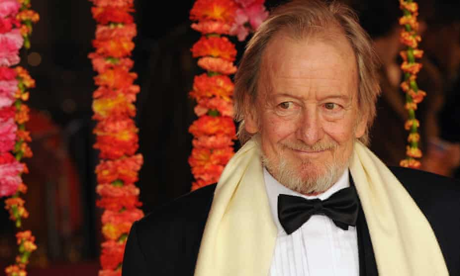Ronald Pickup at the London premiere of The Second Best Exotic Marigold Hotel in 2015.