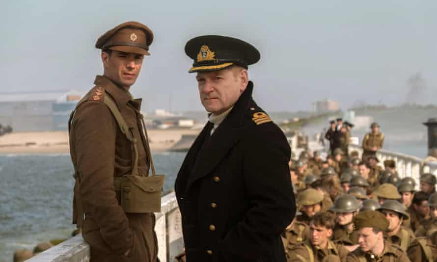James D'Arcy and Kenneth Branagh in Dunkirk.