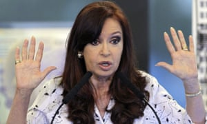 Argentina's Cristina Fernández de Kirchner is facing corruption charges.