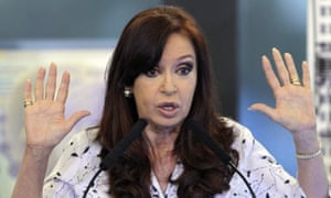 Former president Cristina Fernández de Kirchner denied any link to the money found in José López's possession.