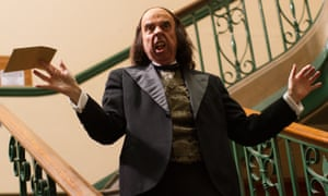 Nightmarish tale … Timothy Spall as Max Wall in Stanley: A Man of Variety.