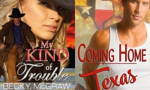 Becky McGraw's My Kind of Trouble and Laura Harner's gay romance Coming Home Texas