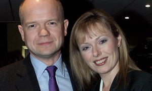 William Hague, wife his wife Ffion, campaigns on 'Keeping the Pound'.