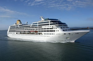 A photo of Carnival's 710-passenger Adonia ship.