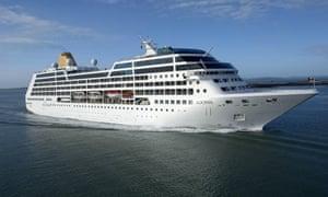 A Carnival cruise ship