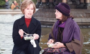Valerie Harper, right, and Mary Tyler Moore in the film Mary and Rhoda, 2000.