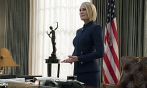 Robin Wright in House of Cards: 'Claire is at least as compelling as Frank.'