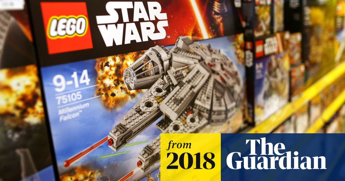 Lego reports first sales fall in 13 years, saying 'there is no quick
