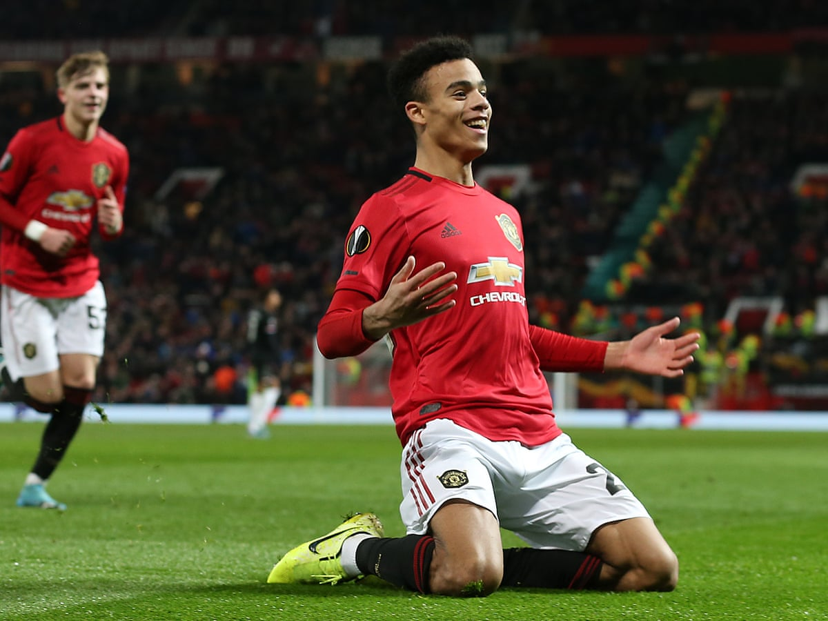 Mason Greenwood will start for Manchester United.
