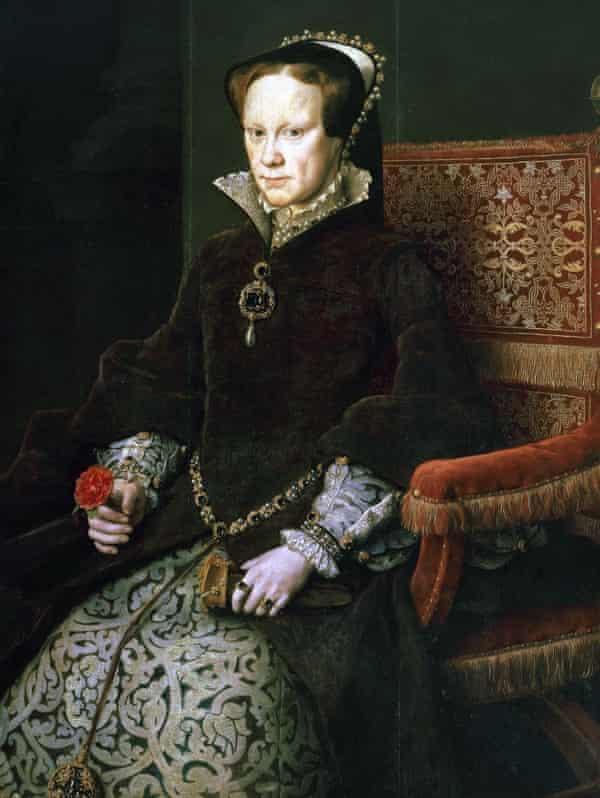 Mary I of England (1516-1558).
