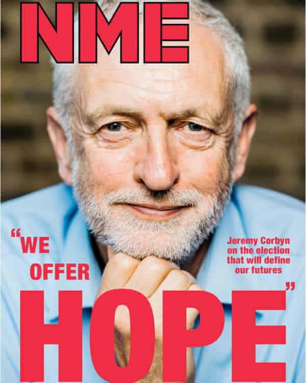 The cover of the 2 June issue of the NME.