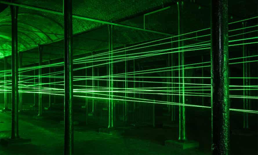 Rita McBride's laser installation Portal (2016)