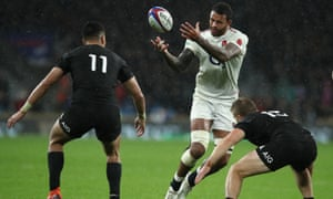 England take on New Zealand at Twickenham in 2018. This year's visit, scheduled for November, is in doubt