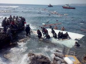 Shipwreck in Rhodes