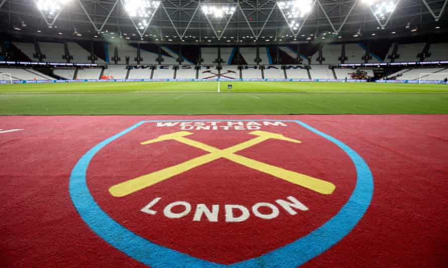 The London Stadium, where West Ham play their home games.